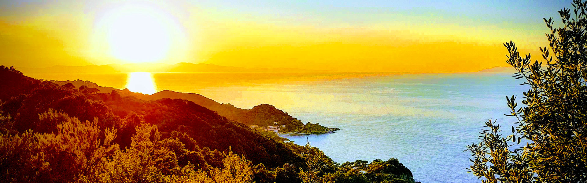 Tramonto Isola d'Elba