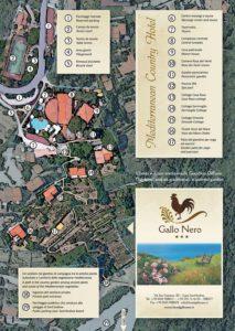 Mappa Hotel Gallo Nero